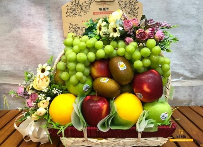 giỏ quà trái cây dịp tết