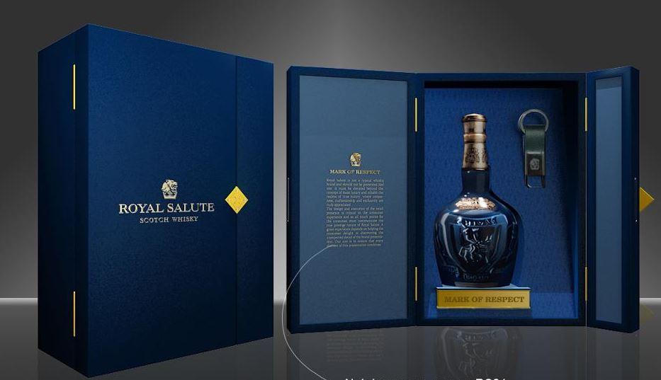Hộp quà tặng rượu ngoại royal salute 21