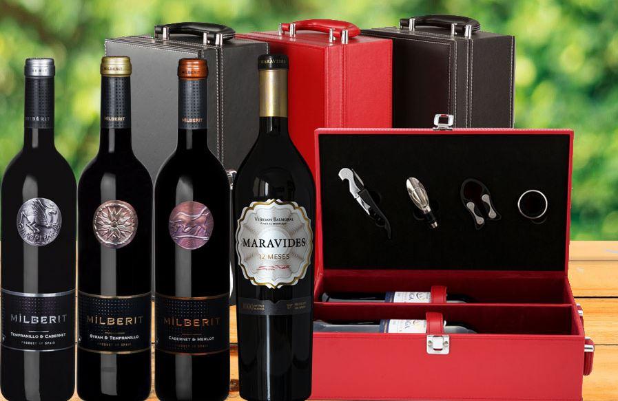 gợi ý chọn quà tết bằng rượu vang sang trọng happybox
